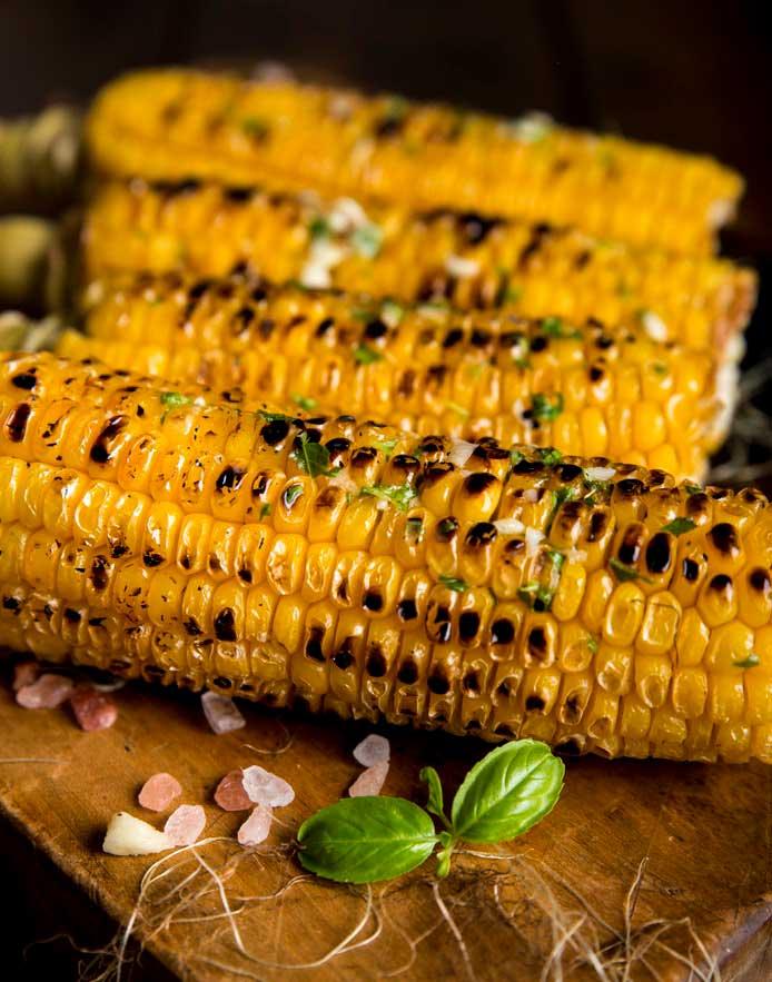 yummy grilled corn!