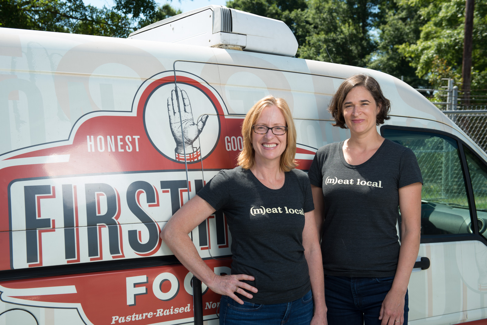 Jennifer Curtis (left) and Tina Prevatte Levy (right) are the co-founders and co-CEOs of Durham-based Firsthand Foods. (Photo courtesy of Firsthand Foods)