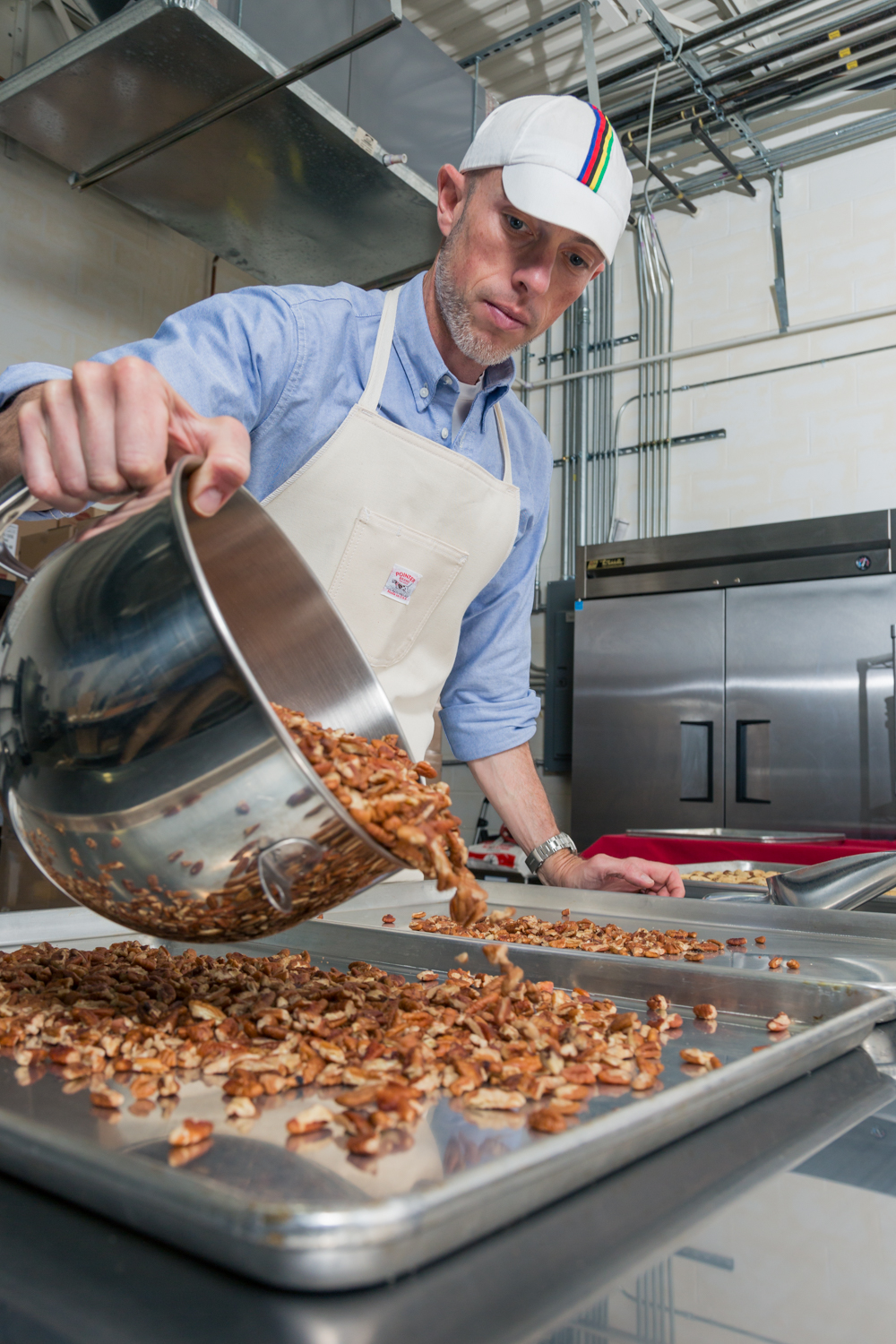 Mark Overbay is the founder and president of Big Spoon Roasters, a Durham-based nut butter brand. (Photo courtesy of Big Spoon Roasters)