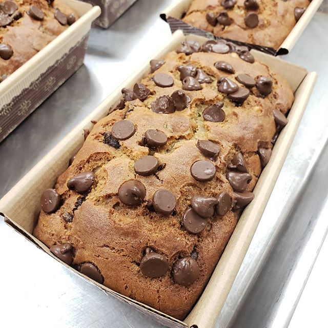 JP's Pastry offers its new gluten-free chocolate chip banana walnut bread through The Produce Box. Photo source: JP's Pastry
