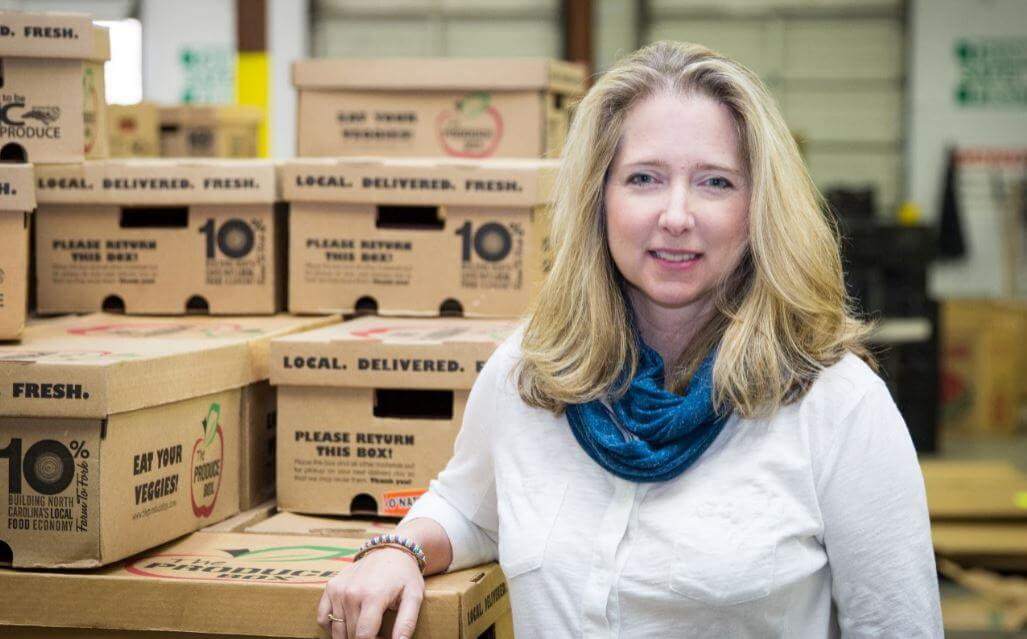 Q&A with Courtney, Founder of The Produce Box